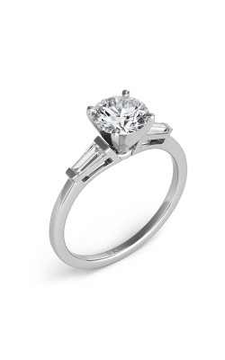 Deutsch & Deutsch Bridal Baguette Engagement ring EN1509-4.0MWG product image
