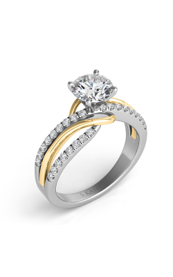 S. Kashi And Sons Bypass Engagement Ring EN7533-1YW product image