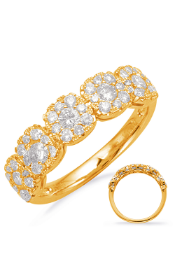 S Kashi & Sons Diamond Fashion Ring D4658YG product image