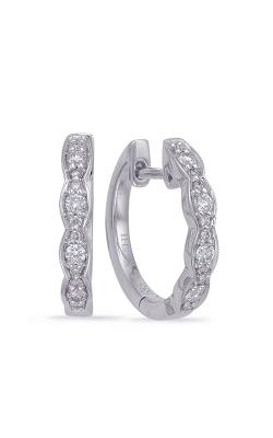 OPJ Signature Huggies Earrings E7968WG product image