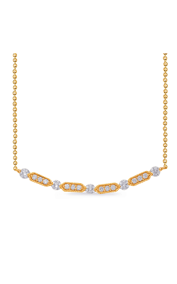 OPJ Signature Diamond Necklace N1226YG product image