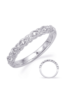 S Kashi & Sons Stackables Wedding Band EN8342-B1WG product image