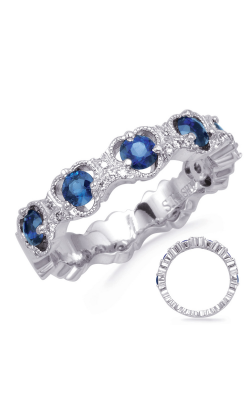 S Kashi & Sons Color Fashion Ring C8057-SWG product image