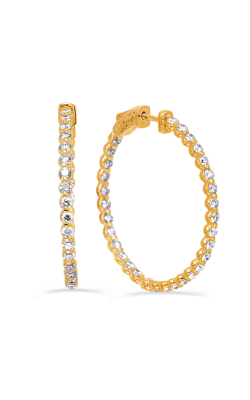 OPJ Signature Hoop Earrings E8022YG product image