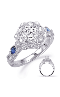 Deutsch & Deutsch Bridal Color Engagement ring EN8342-1SWG product image