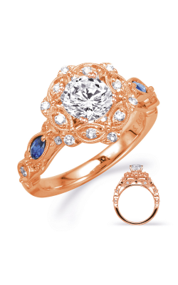 Deutsch & Deutsch Bridal Color Engagement ring EN8342-1SRG product image