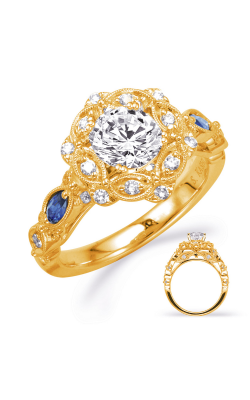 Deutsch & Deutsch Bridal Color Engagement ring EN8342-1SYG product image