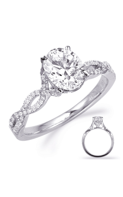 S Kashi & Sons Criss Cross Engagement Ring EN7325-8X6MOVWG product image