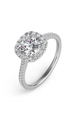 Deutsch & Deutsch Bridal Halo Engagement Ring EN7508-125WG product image