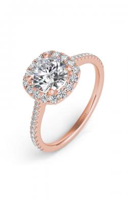Deutsch & Deutsch Bridal Halo Engagement ring EN7508-125RG product image
