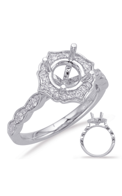 Deutsch & Deutsch Bridal Vintage Engagement Ring EN8070-2WG product image