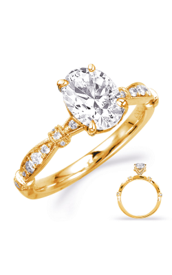 S Kashi & Sons Vintage Engagement Ring EN8152-8X6MOVYG product image
