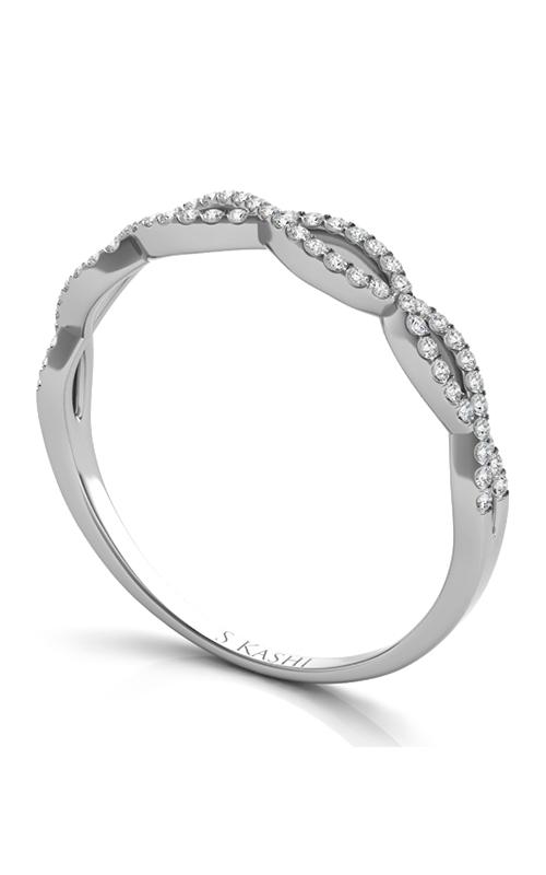 Deutsch & Deutsch Bridal Criss Cross Wedding band EN7325-BWG product image
