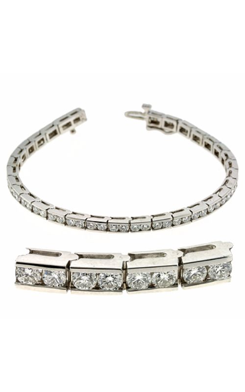 S Kashi & Sons Diamond Bracelet B4029-3WG product image