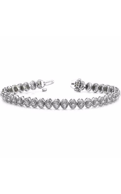 S Kashi & Sons Diamond Bracelet B4014-1WG product image