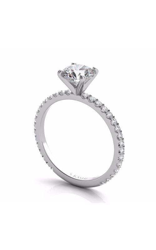 OPJ Signature Side Stone - Prong Set Engagement Ring EN7285WG product image