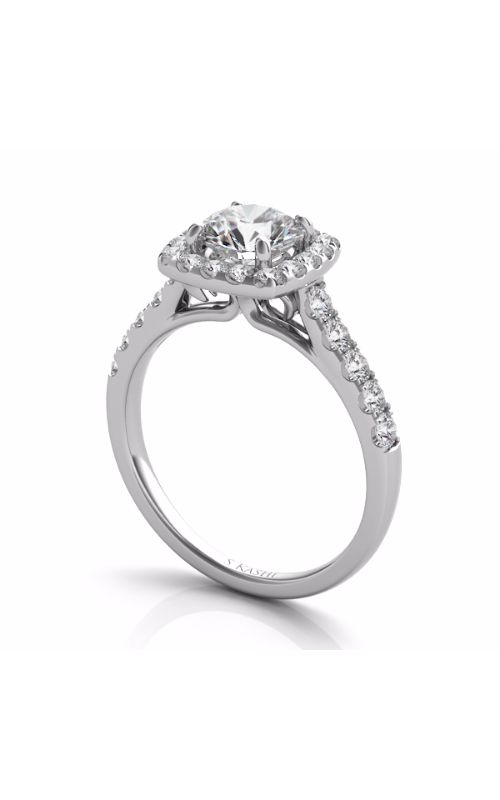 Deutsch & Deutsch Bridal Halo Engagement ring EN7452-1WG product image