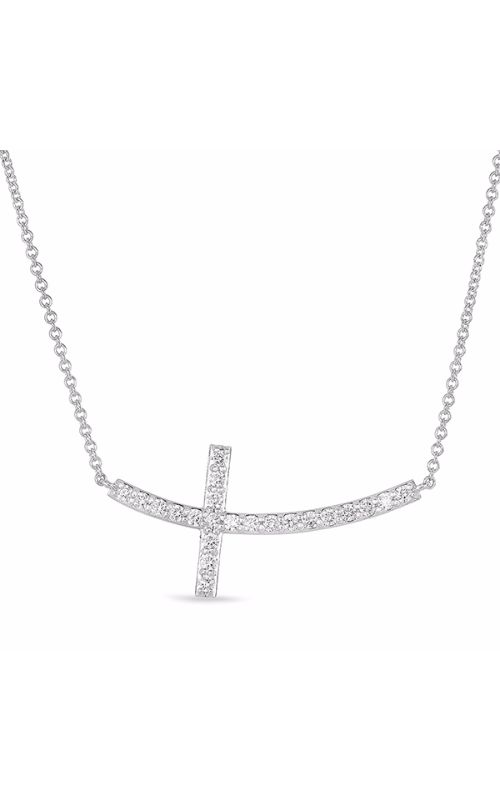 S Kashi & Sons Cross Necklace N1195WG product image
