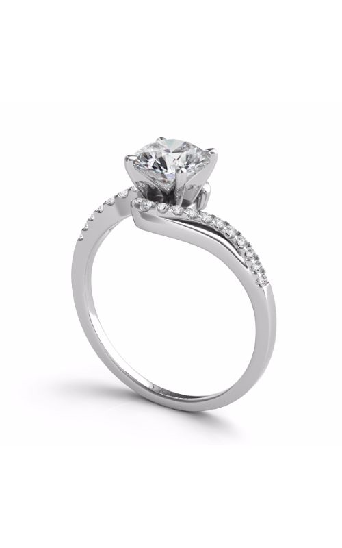 S Kashi & Sons BYPASS Engagement ring EN7274WG product image