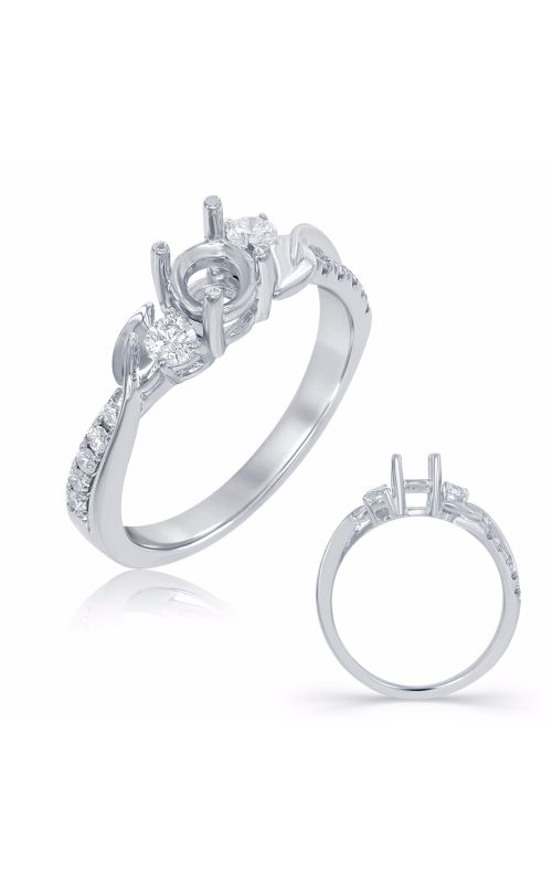 S Kashi & Sons BYPASS Engagement ring EN7710WG product image