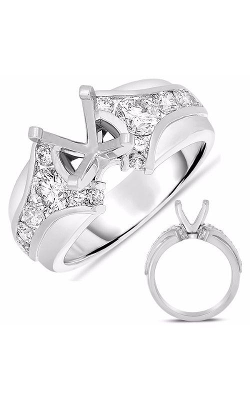 Deutsch & Deutsch Bridal Channel Set Engagement ring EN7619WG product image