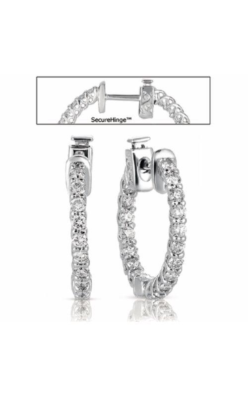 S Kashi & Sons Hoops Earring E7685WG product image