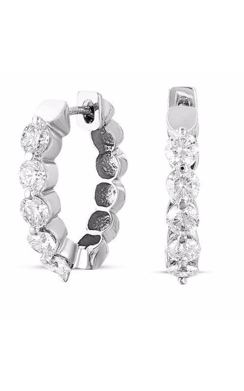 S Kashi & Sons Hoops Earring E7720WG product image