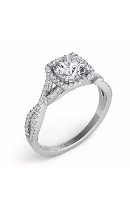 Deutsch & Deutsch Bridal Criss Cross Engagement ring EN7333-50WG product image