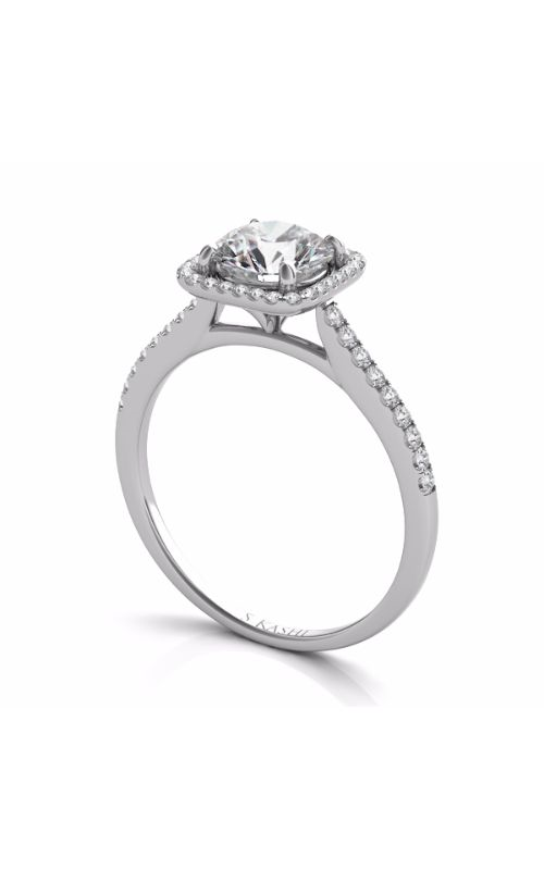 S Kashi & Sons Halo Engagement ring EN7330-1WG product image
