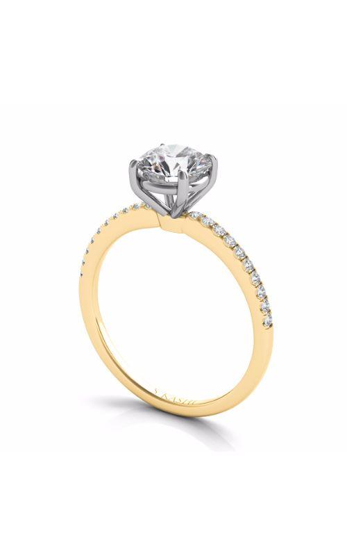 S Kashi & Sons Side Stone - Prong Set Engagement Ring EN7470YG product image
