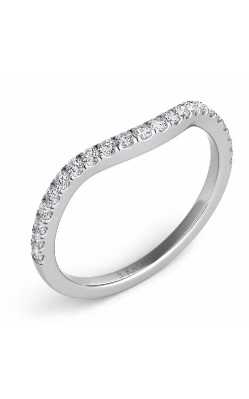 Deutsch & Deutsch Bridal Curved Wedding band EN7303-BWG product image