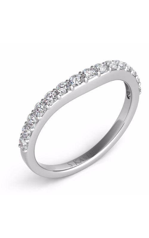 Deutsch & Deutsch Bridal Curved Wedding band EN6999-BWG product image