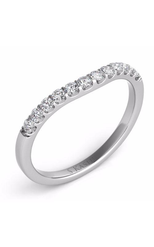 Deutsch & Deutsch Bridal Curved Wedding band EN6695-BWG product image