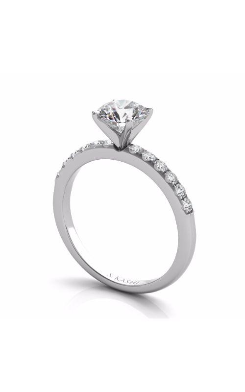 Deutsch & Deutsch Bridal Side Stone Engagement ring EN7195WG product image