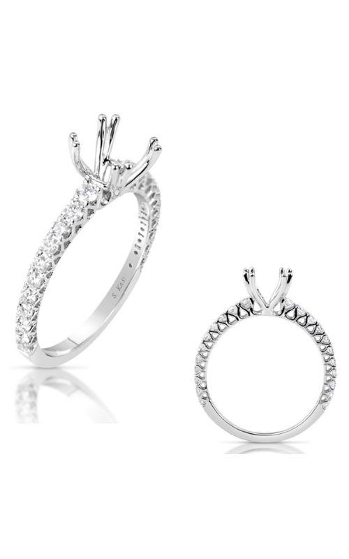 Deutsch & Deutsch Bridal Side Stone Engagement ring EN7722-1WG product image