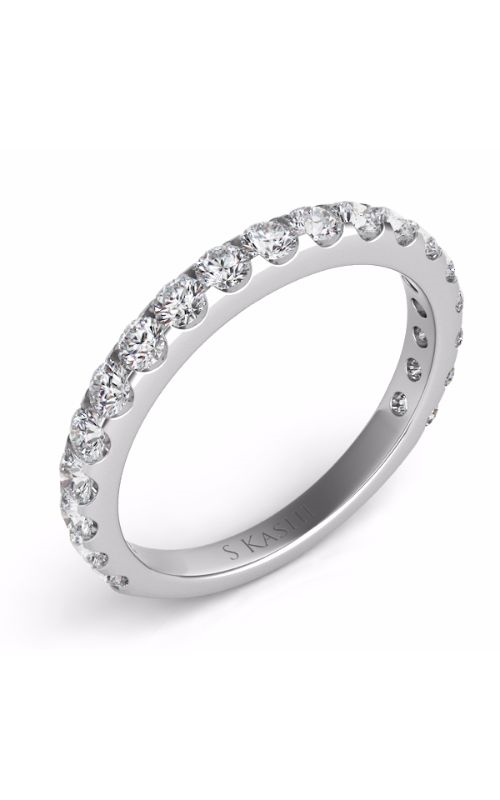 Deutsch & Deutsch Bridal Prong Set Wedding band EN7006-BWG product image