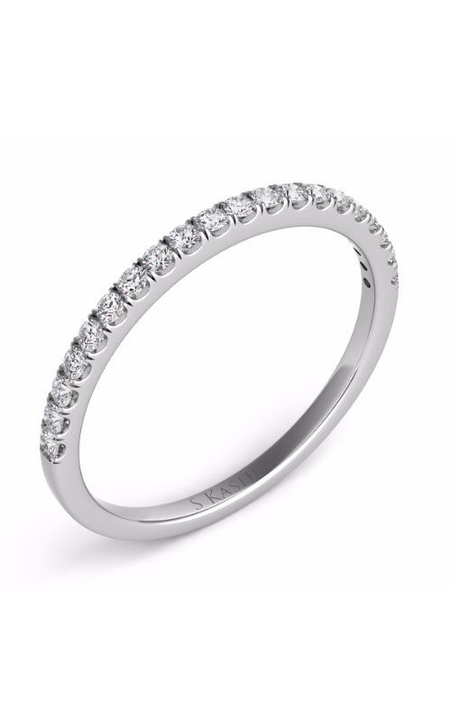 Deutsch & Deutsch Bridal Prong Set Wedding band EN7442-BWG product image