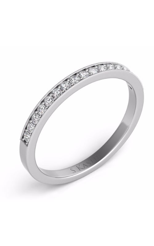 OPJ Signature Prong Set Wedding Band D4106WG product image