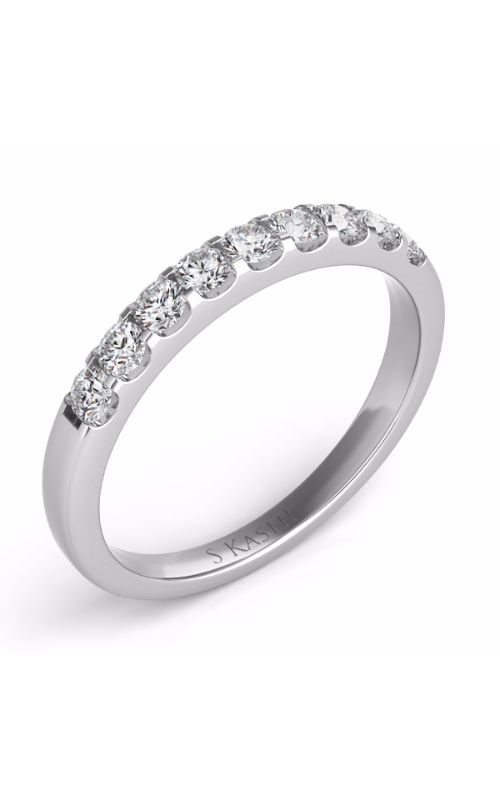 Deutsch & Deutsch Bridal Prong Set Wedding band EN6637-BWG product image