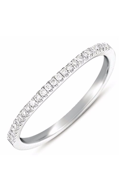 S Kashi & Sons Prong Set Wedding band EN7369-BWG product image