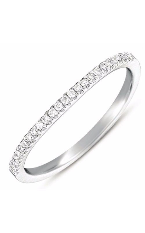 OPJ Signature Prong Set Wedding Band EN7369-BWG product image