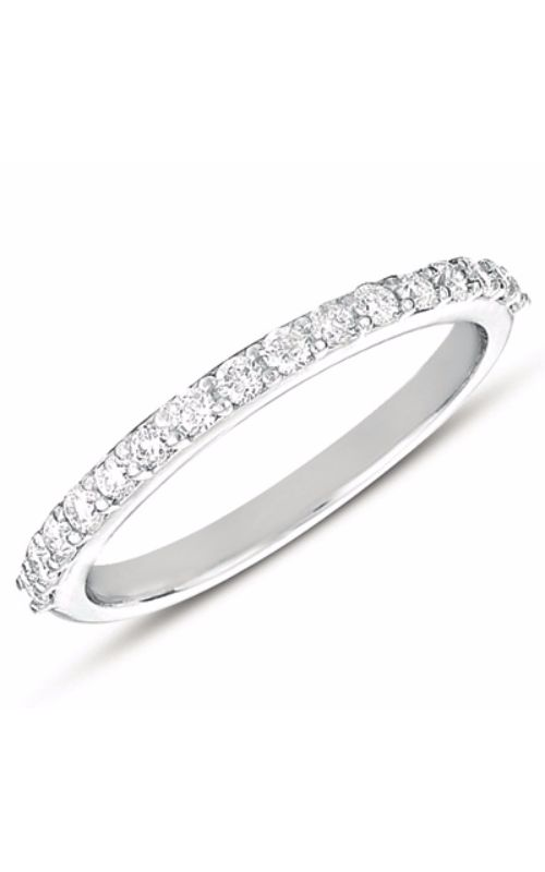 Deutsch & Deutsch Bridal Prong Set Wedding band EN7476-BWG product image