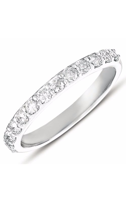 S Kashi & Sons Prong Set Wedding band EN7345-BWG product image