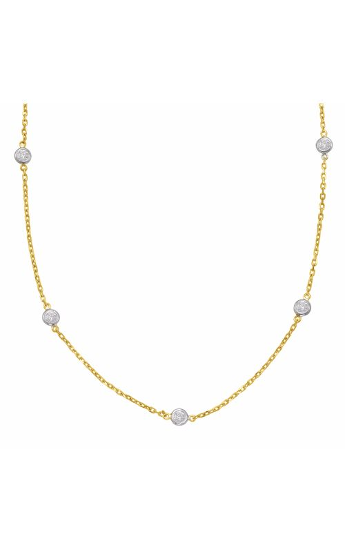 OPJ Signature Diamond Necklace N1077-2.5MYG product image
