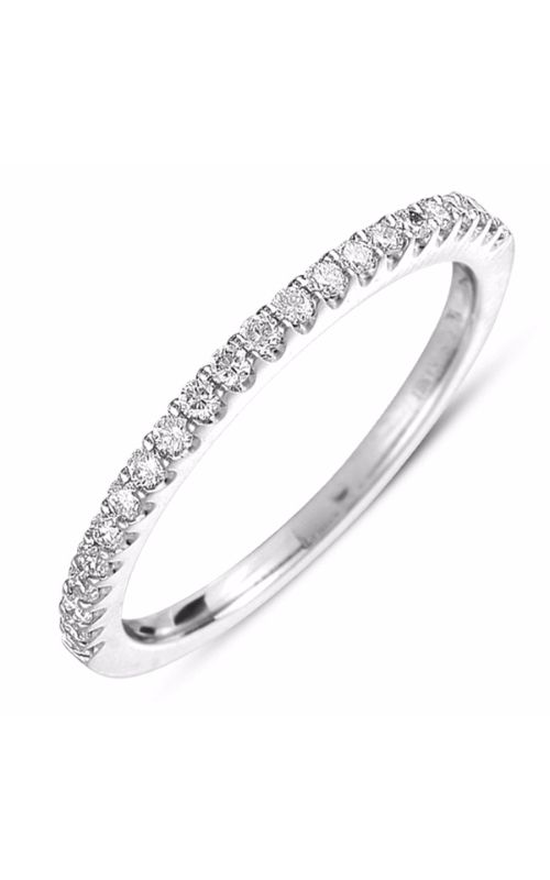 S Kashi & Sons Prong Set Wedding band EN7313-BWG product image