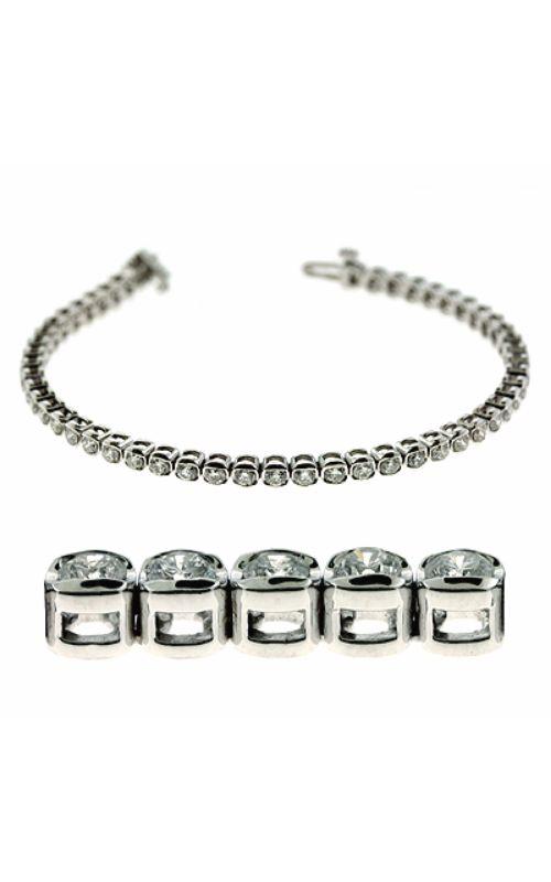 S Kashi & Sons Diamond Bracelet B4396-3WG product image