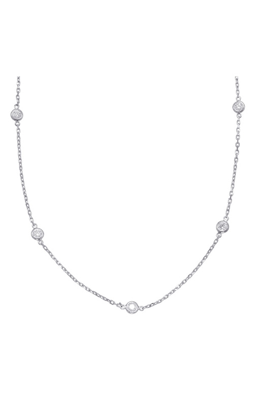 S Kashi & Sons Diamond By The Yard Necklace N1077-2.0MWG product image