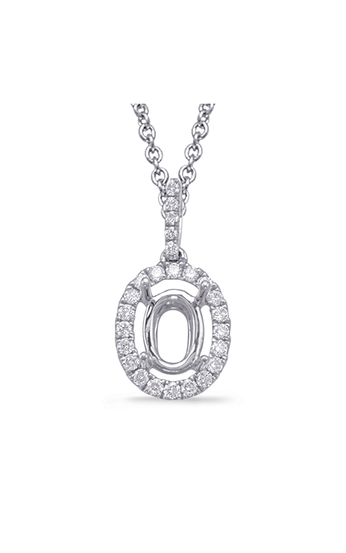 OPJ Signature Halo Necklace P3231-9X7MWG product image