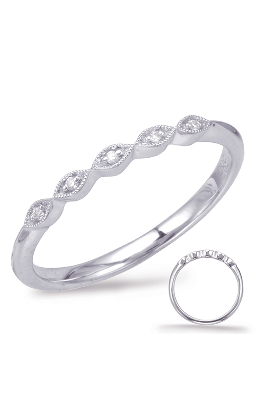 S Kashi & Sons Stackables Wedding band EN7930-BWG product image