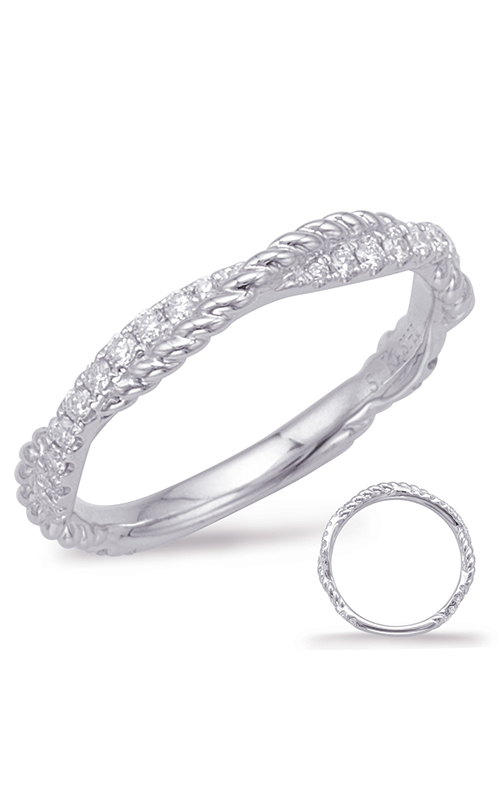 Deutsch & Deutsch Bridal Braided Wedding band EN7969-B10WG product image